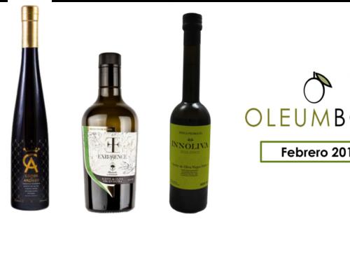 Selección de aceite de oliva virgen extra gourmet de Febrero 2017